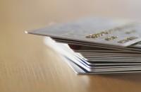 Пластиковая карта Visa unembossed non-personalized