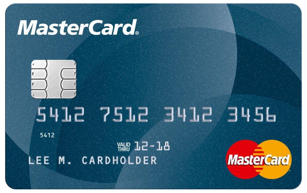 отправлено кредитная карта mastercard