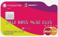 Дебетовая карта «Много» банка Открытие