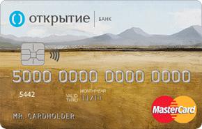 Автокарта банка Открытие