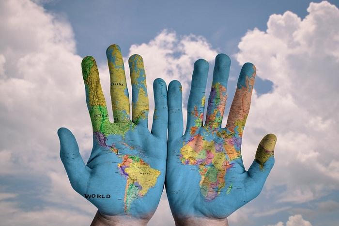 карта мир