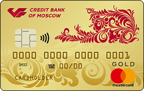 Дебетовая карта GOLD МКБ