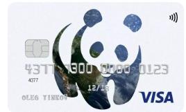 Карта WWF Тинькофф банка