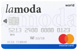 Карта Lamoda Тинькофф банка