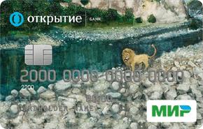 Социальная карта банка Открытие