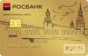 Премиальная карта МИР Росбанка