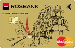 Золотая карта Росбанка