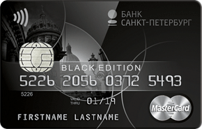 Карта Black Банка Санкт-Петербург