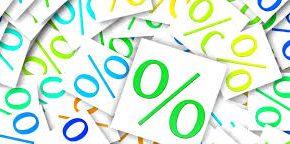 Cредневзвешенная процентная ставка по кредитам ЦБ РФ