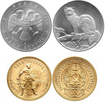 Инвестиционные и коллекционные монеты. В чем разница