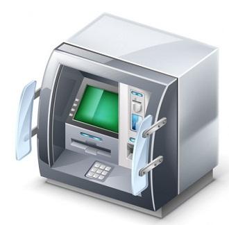 как снимать деньги в банкомате