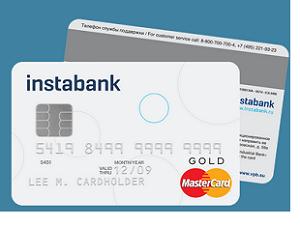 дебетовая карточка инстабанка