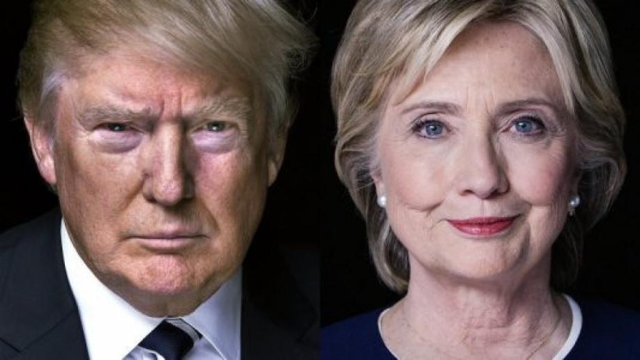 Клинтон и Дональд Трамп