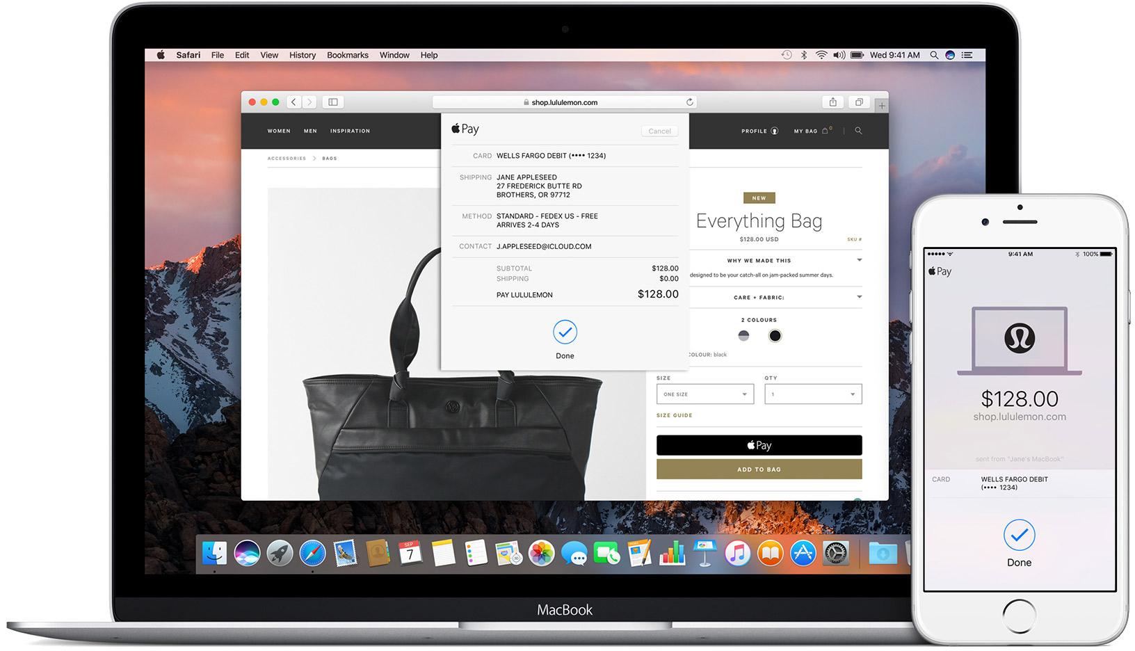 Оплата с ноутбука